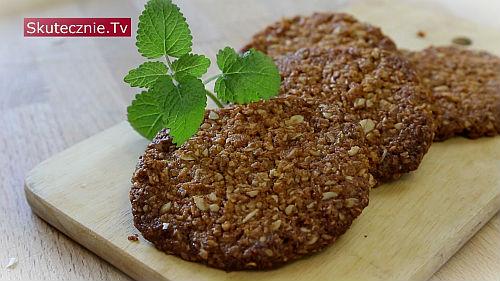 Maślane ciastka owsiano-kokosowe