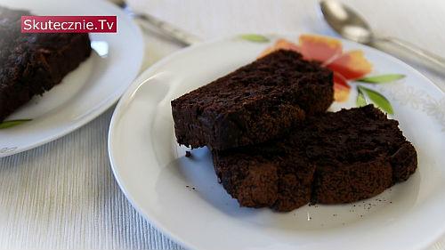 Czekoladowe ciasto z fasoli (bez tłuszczu, bez mąki)