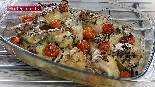 Pieczony kurczak w stylu włoskim