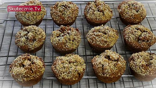Muffiny dyniowe z jabłkiem i orzechami