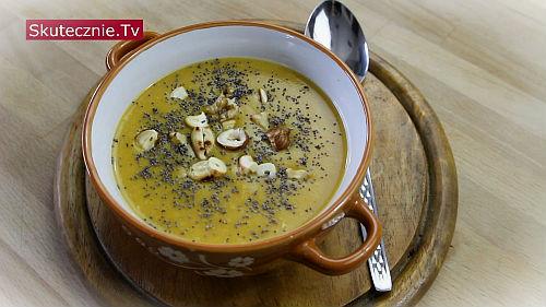 Zupa krem z ziemniaków i batatów