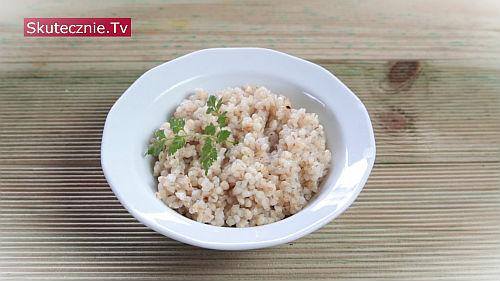 Kokosowa kasza lub ryż na sypko