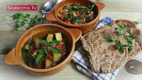 Proste curry z bakłażanem i fasolą