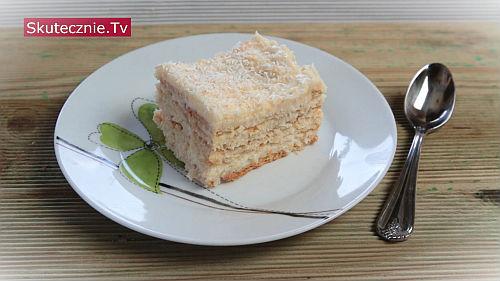 Ciasto kokosowe. Rafaello bez pieczenia