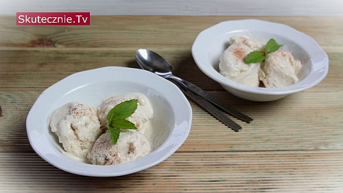 Domowe lody kokosowo-chałwowe