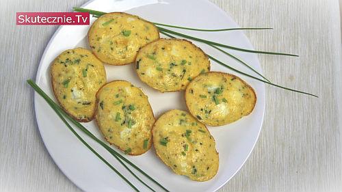 Zapiekane jajka z fetą i szczypiorem. Plus dwa omlety