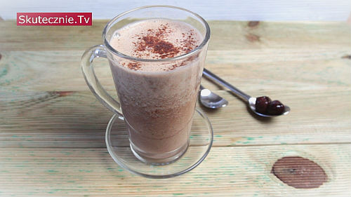 Koktajl wiśniowo-kawowy
