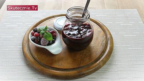 Dżemik owocowy z chia - bez cukru, z owoców świeżych lub mrożonych