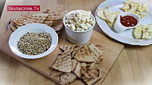 Szybkie słone przekąski, czyli zdrowsze 'zamiast chipsów'
