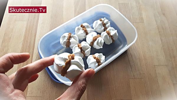 Najprostszy tort bezowy - całuski