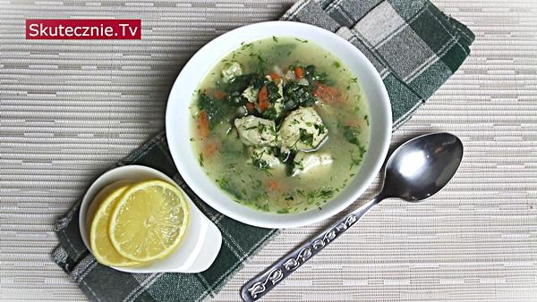 Super smaczna zupa rybna z warzywami