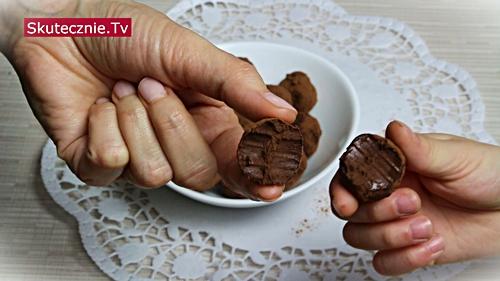 Proste trufle czekoladowo-miętowe