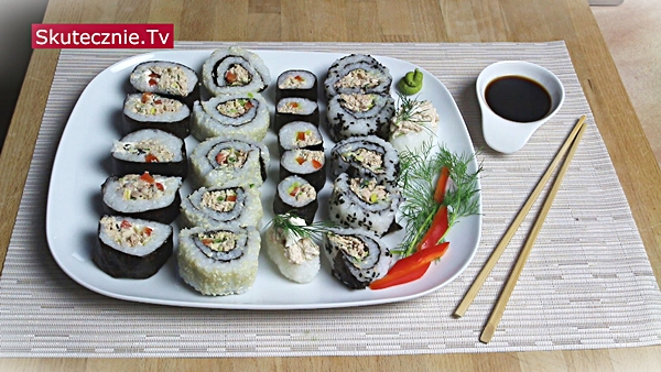 3 proste sposoby na… Domowe sushi z tuńczykiem