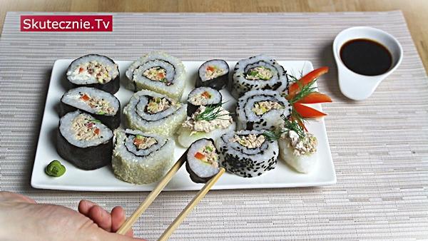 3 sposoby na… Domowe sushi z tuńczykiem