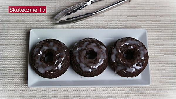Donuty lub donaty z piekarnika (waniliowe i czekoladowe)