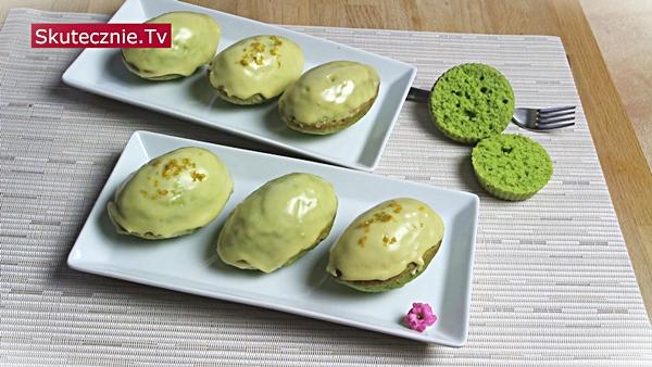 Wielkanocne muffiny (jajka) w cytrynowym lukrze