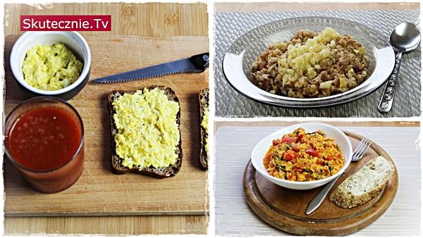 3 szybkie i pożywne śniadania na ciepło