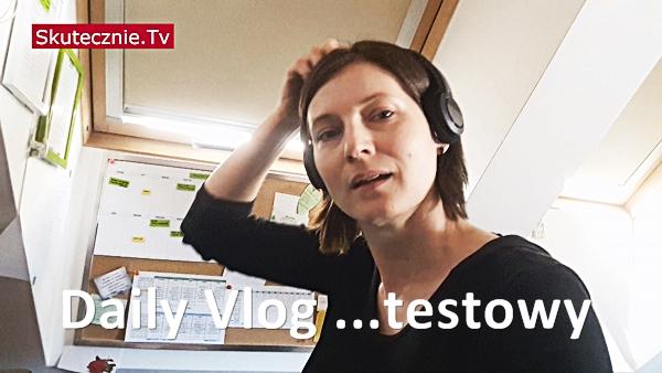 Praca w domu i chleb na zakwasie. Daily Vlog… testowy