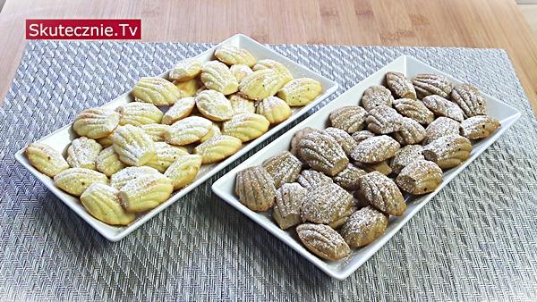 Magdalenki cytrynowe i magdalenki kawowe (jak z cukierni)