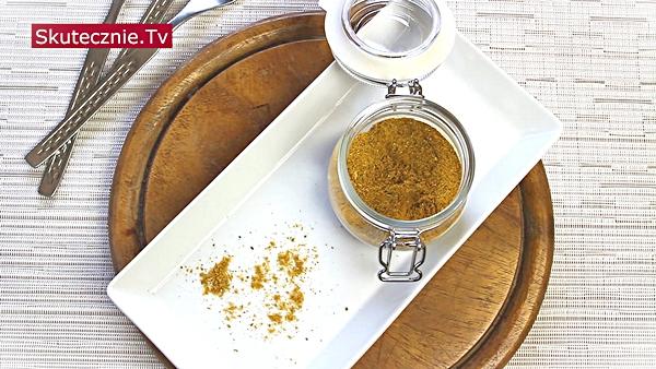Przyprawa do drobiu, ryb i warzyw (nuta hinduska). Plus szybki kurczak