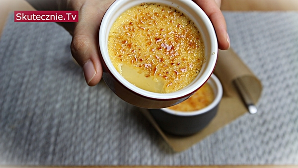 Jak zrobić creme brulee (crème brûlée)