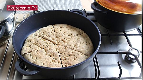 Faszerowane papryki z prostym domowym chlebem