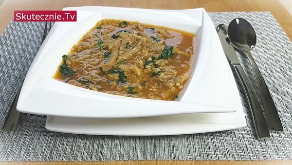 Zupa z boczniaków z kaszą (na co dzień i na Wigilię)