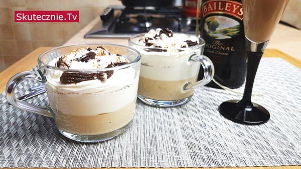 Mini-serniczki cappuccino z Baileys