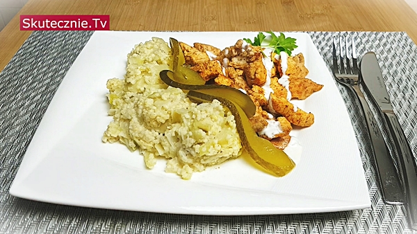 Szybki obiad. Oszukany kebab i kasza jaglana z kapustą | BEZ STATYWU