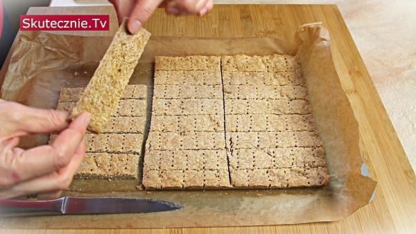 Kruche ciastka pełnoziarniste 2w1: Ciasteczka + Baza do batoników