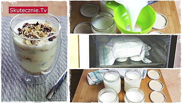 Domowy jogurt w stylu greckim (gęsty)
