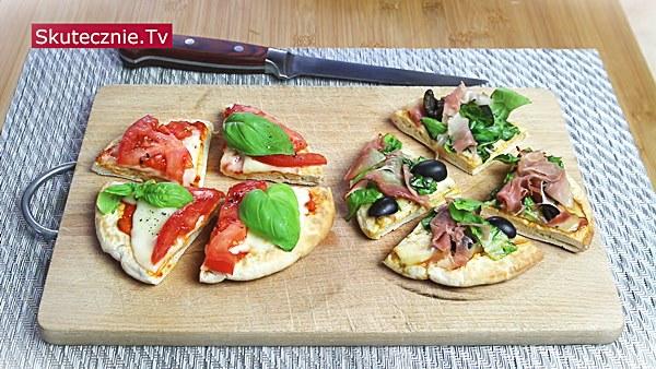 Mini pizze. Szybki obiad lub kolacja w 15 minut
