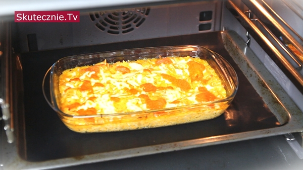 Zapiekany makaron z pomidorami i ricottą