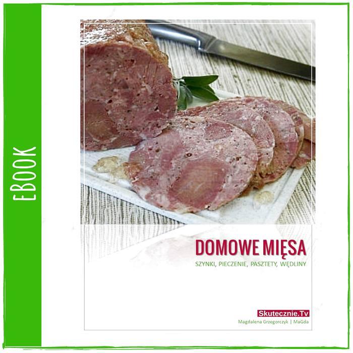 Domowe mięsa i wędliny - eBook (okładka)