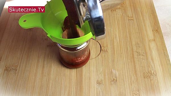 Domowy ketchup (bez cukru) -słoik