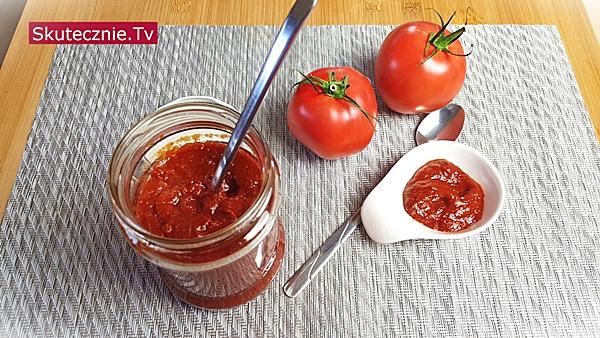 Szybki domowy ketchup (bez cukru)