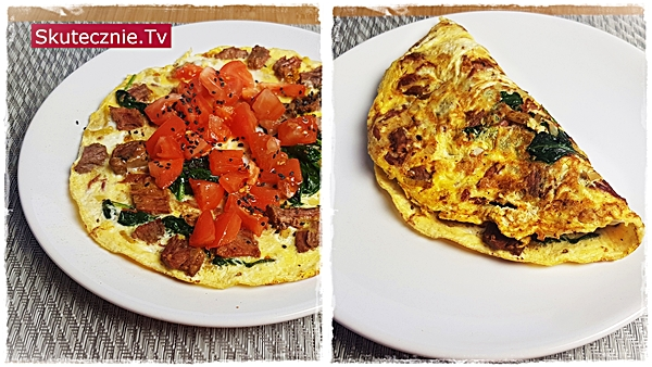 MealPrep: Duszona wołowina: omlet