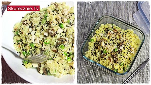 MealPrep: Duszona wołowina: ryż z kalafiora