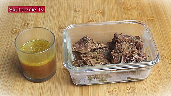 MealPrep: Duszona wołowina: mięso i wywar