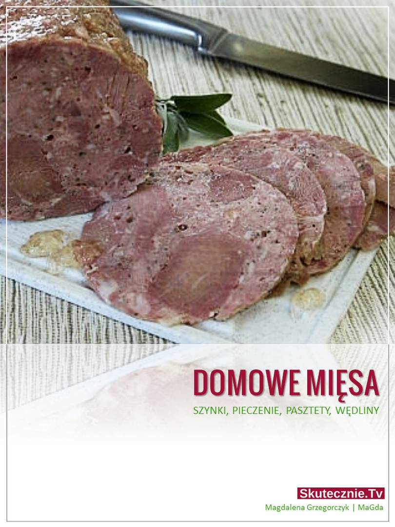 Domowe mięsa - eBook (okładka)