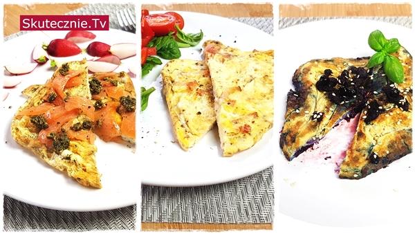 3 omlety śniadaniowe (na weekend i na co dzień)