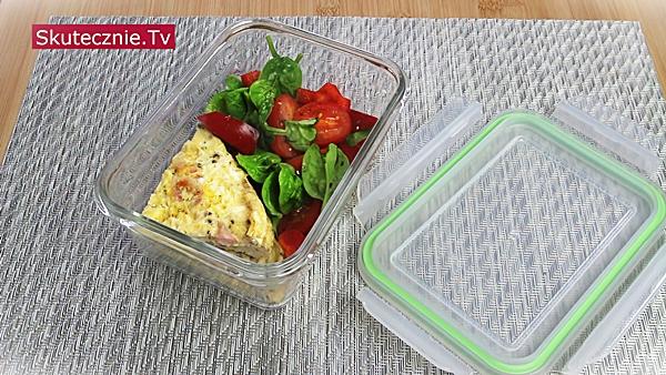 3 omlety śniadaniowe -lunchbox