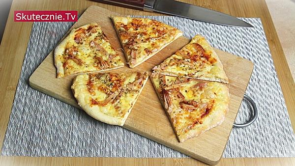 Szybka pizza (bez wyrastania)