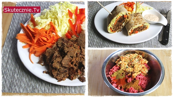 Domowy kebab wołowy