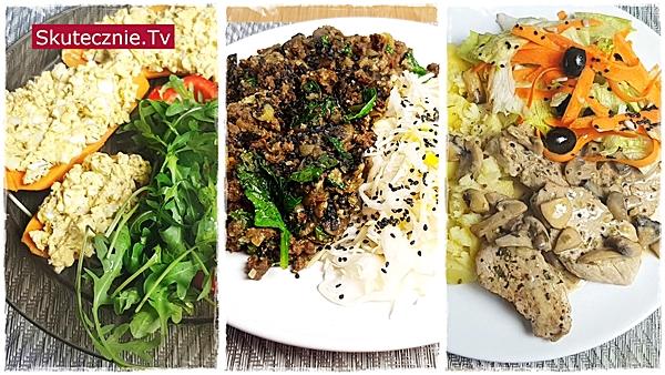 Proste posiłki z 3 dni tygodnia. Foodbook 01-2020