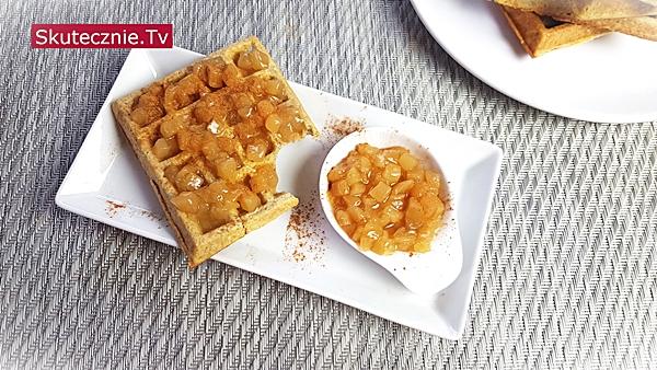 Gofry gryczane –super na słodko i na wytrawnie