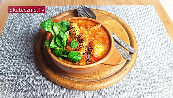 Świetne curry z udkami i kalafiorem na ostro (z roszponką)