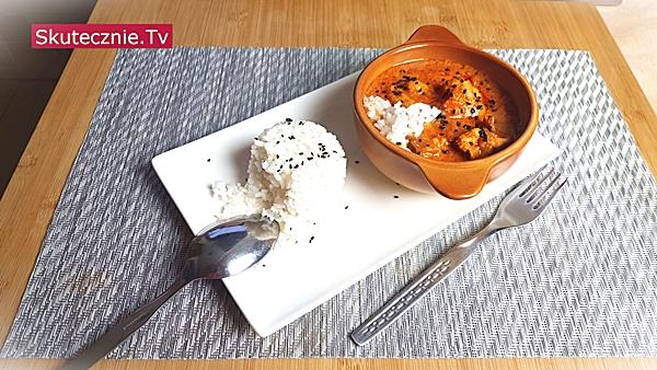 Świetne curry z udkami i kalafiorem na ostro (z ryżem)