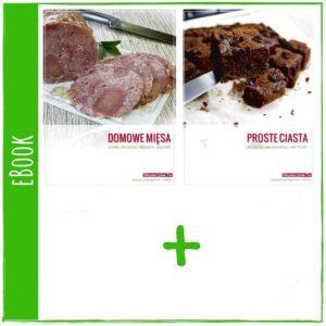 Domowe wedliny + Proste ciasta - eBooki (okładka)