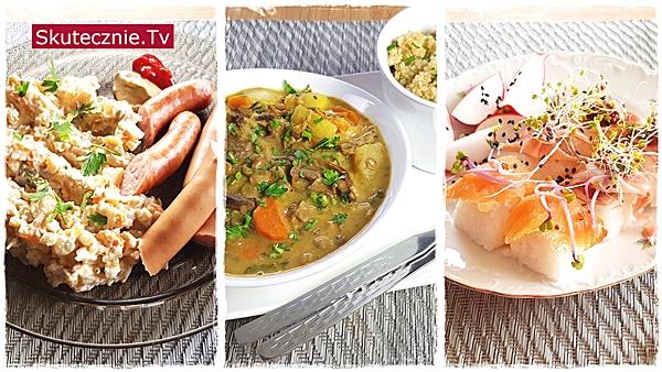 Proste posiłki z 3 dni tygodnia. Foodbook 10-2020